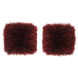 Cosy Concept Fur Racoon cuff wine 1000dkk